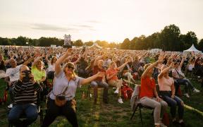 Publikum beim Lüneburger Kulturtsommer 2017
